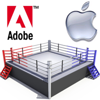 adobe vs apple
