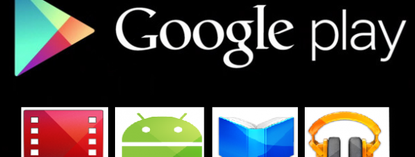 Google Play Logo Before and After